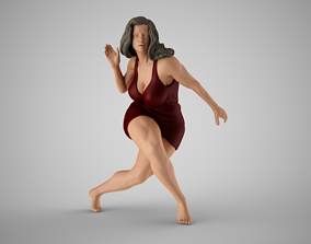 3D printable model Girl in Trouble