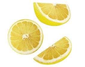 3D Lemon slice collection
