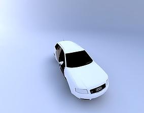 3D 2001 Audi A6A Avant