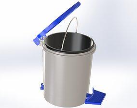 3D print model Trash bin