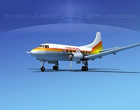 3D model Martin 404 Florida Airlines