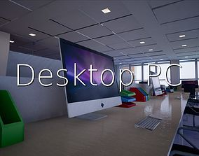 3D asset Desktop PC SHC Quick Office
