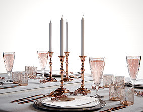 Table setting 2 3D