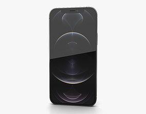 Apple iPhone 12 Pro Graphite 3D