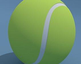 3D Tennis Ball tennis