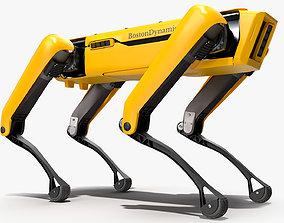 3D model SpotMini Boston Dynamics Robot