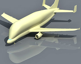 Futuristic Super Transporter 3D