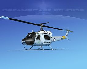 3D Bell UH-1B Iroquois V08 US Air Force