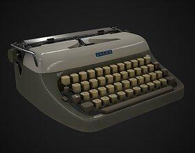 3D model Typewriter Adler Primus