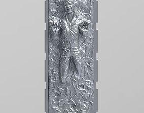Han solo carbonite 3D print model
