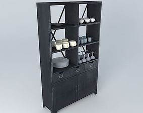 Edison Shelves Maisons du Monde 3D model