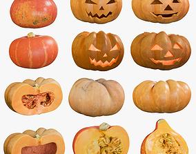 3D model Pumpkin Collection 1