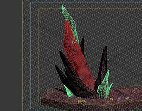Game Model - Outstanding Volcanic Stone Teeth 1