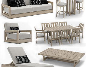 RH Outdoor Costa Collection 3D model