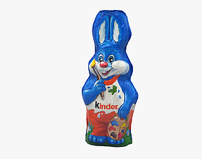 Chocolate Bunny Kinder 3D model