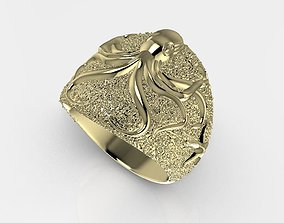 ring octopus band ring 3D printable model