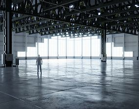 3D asset Warehouse Interior 4 - Textures