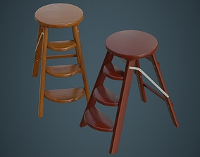 3D model Step Ladder 2A
