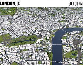 London UK 3D model