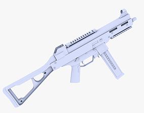 3D model UMP 45 Submachine Gun