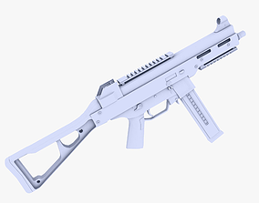 3D model UMP 45 Submachine Gun
