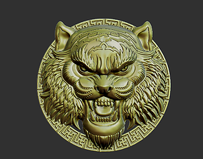 3D print model decoration tiger head