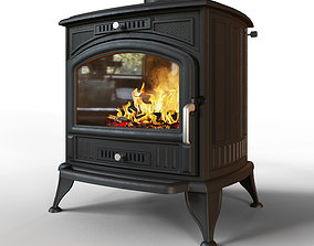 furnance Fireplace stove 3D model