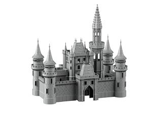 3D print model Castle-Stadium