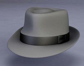 3D Fedora Hat model
