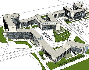 3D model Region-City-School 101
