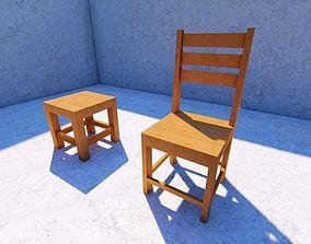 ape-technologies 3D asset VR / AR ready chair