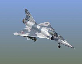 Mirage 2000C Fighter 3D missile