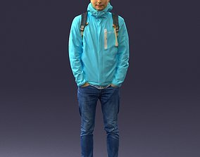 Guy in blue jacket 0123 3D Print Ready