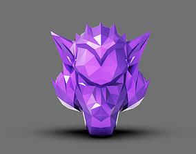 Polygon Head Kong 3D printable model