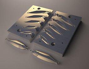Metal jig Mold Model 01 diy