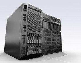 3D asset Dell servers
