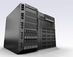 Dell servers 3D model