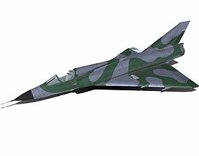 3D model Dassault Mirage III
