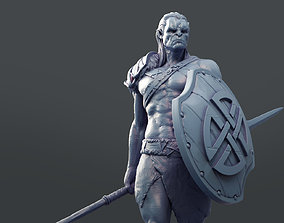 Orc Warrior 3D printable model print