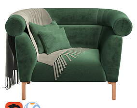 3D model Rouble sofa 02