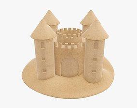Sand castle 05 3D model