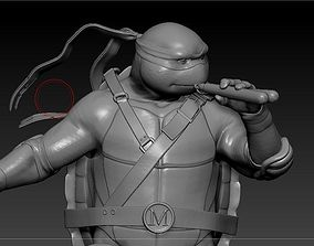 3D print model Michealangelo from TMNT
