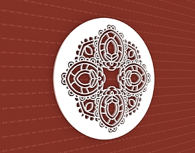3D pattern meditation Mandala