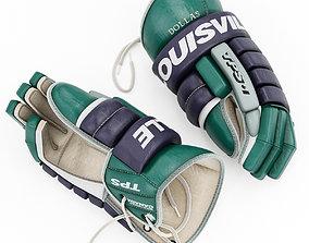3D Louisville TPS Hockey Gloves