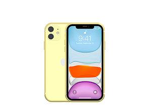 Apple Iphone 11 apple 3D