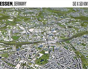 Essen Germany 3D model