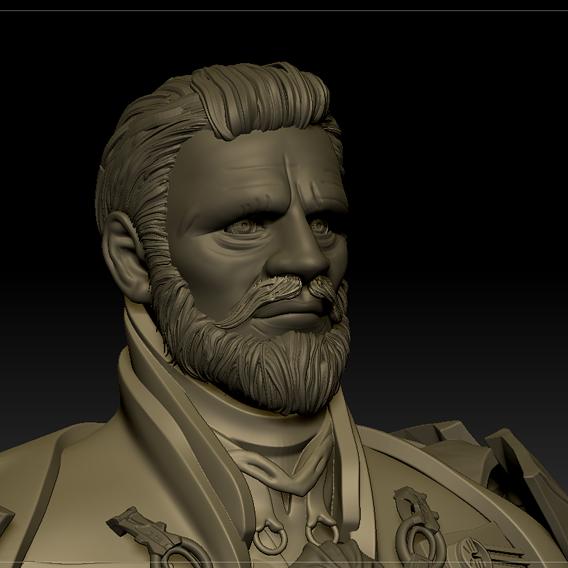 Emperor Valkorion WIP 02
