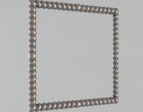 baked-good Frame for the mirror 3D print model