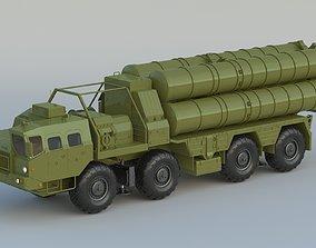 S-300 Missile System 3D model