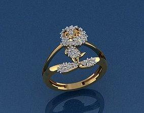 3D printable model Tweety Set Ring and pendant